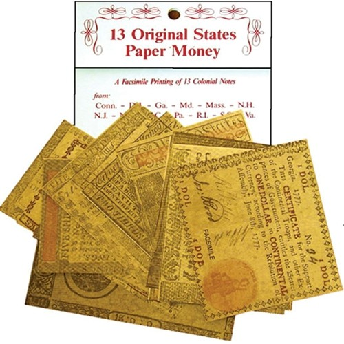 PAPER MONEY 13 COLONIES Thumbnail