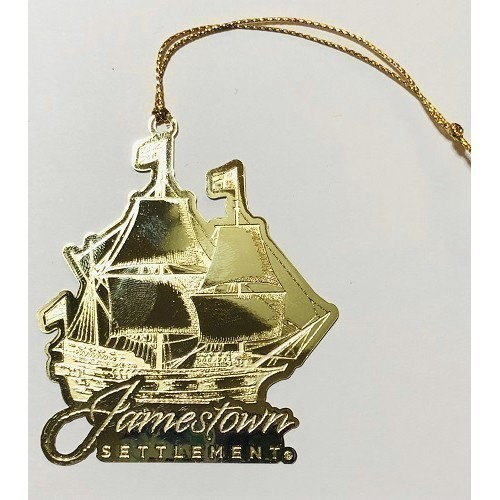ORNAMENT SUSAN CONSTANT SHIP IN GOLD Thumbnail