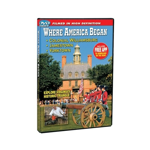 DVD WHERE AMERICA BEGAN Thumbnail