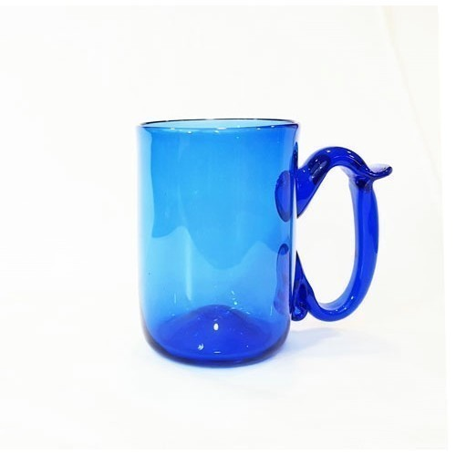 JAMESTOWN GLASS MUG COBALT Thumbnail