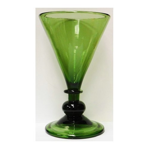 JAMESTOWN GLASS TANKARD - GREEN Thumbnail