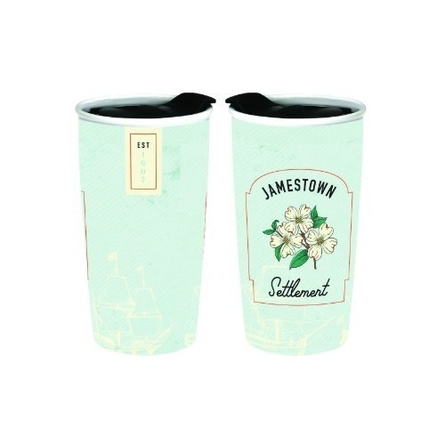 JAMESTOWN SETTLEMENT DOGWOOD TRAVEL MUG Thumbnail