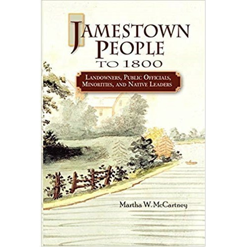 JAMESTOWN PEOPLE TO 1800 Thumbnail