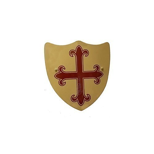 WOODEN TOY SHIELD WITH CROSS Thumbnail
