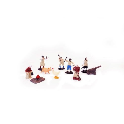 JAMESTOWN SETTLER MINATURES TOOB Thumbnail