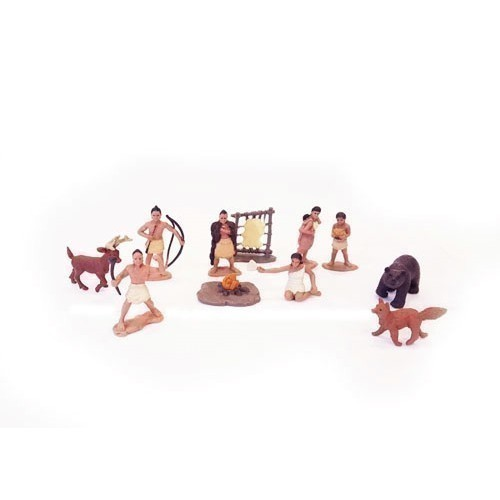 POWHATAN INDIAN MINIATURES TOOB Thumbnail
