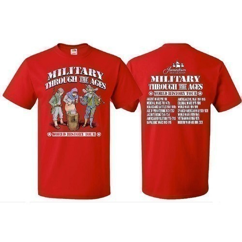 2020 MILITARY THROUGH THE AGES TEE Thumbnail