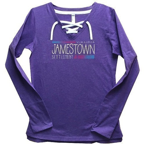 LONG-SLEEVED PULLOVER - LADIES - PURPLE Thumbnail
