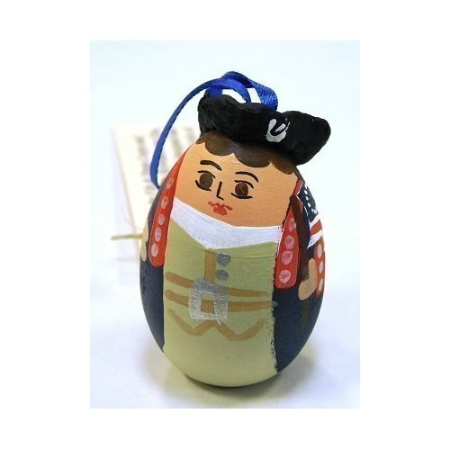 PATRIOT BLUE COAT EGG ORNAMENT Thumbnail