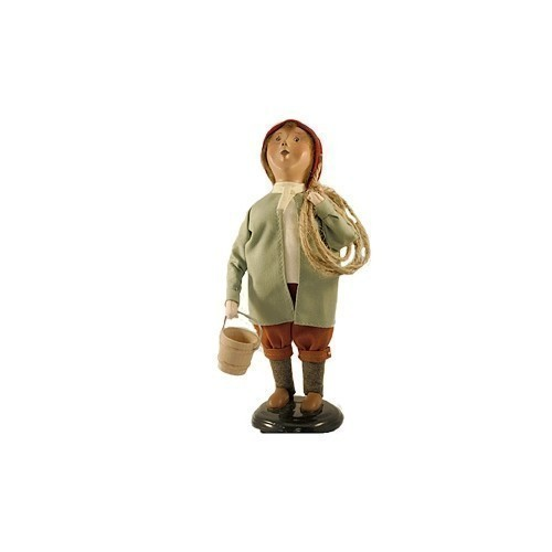 BYERS' CHOICE CAROLER DOLL - WILLIAM Thumbnail