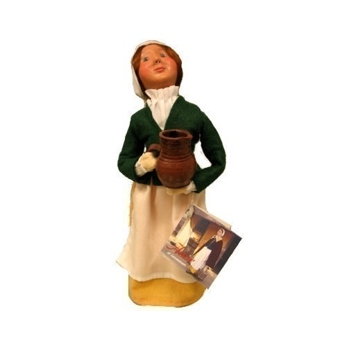 BYERS' CHOICE CAROLER DOLL- ANNE Thumbnail