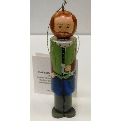 CLOTHESPIN ORNAMENT JOHN SMITH  Thumbnail