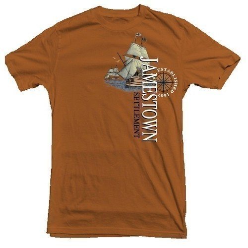 ADRIFT JAMESTOWN SETTLEMENT TEE Thumbnail