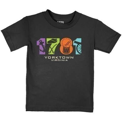 1781 TEE - YOUTH - HEATHER BLACK Thumbnail