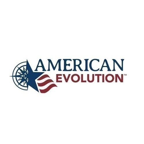 POSTCARD - AMERICAN EVOLUTION LOGO Thumbnail