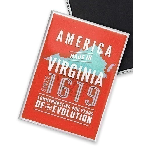 AMERICA MADE IN VIRGINIA MAGNET Thumbnail