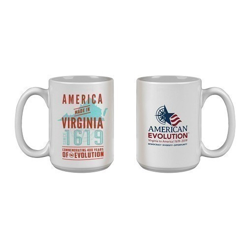 AMERICA MADE IN VIRGINIA MUG - WHITE Thumbnail