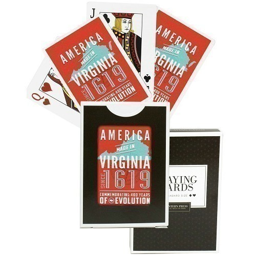 AMERICA MADE IN VIRGINIA PLAYING CARDS Thumbnail