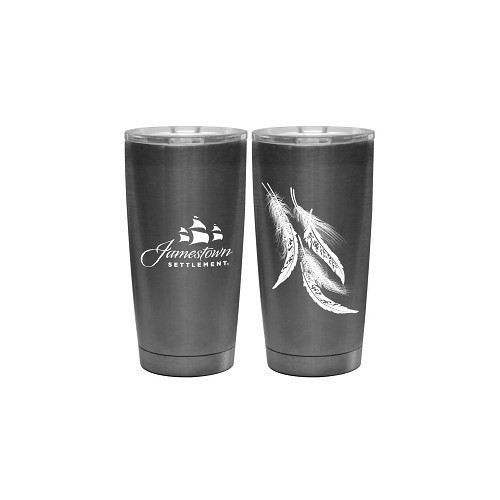 SIGNATURE LOGO & FEATHERS INSULATED TUMBLER Thumbnail