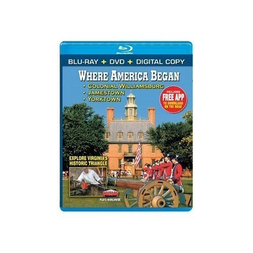 BLU-RAY WHERE AMERICA BEGAN  Thumbnail