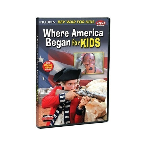 DVD WHERE AMERICA FOR KIDS Thumbnail