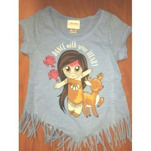FRINGED TEE SHIRT - TODDLER Thumbnail