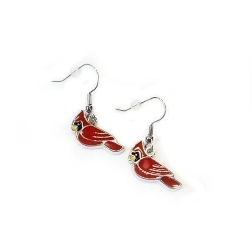 CARDINAL CHARM EARRINGS Thumbnail