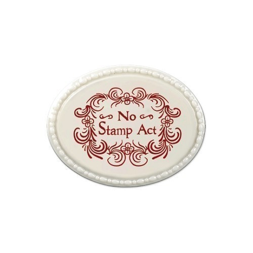 NO STAMP ACT OVAL MAGNET Thumbnail