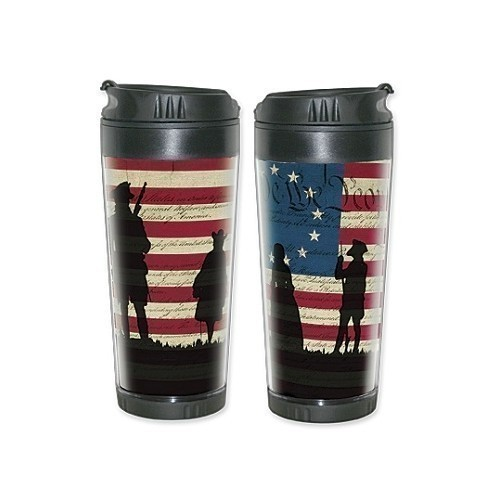 WE THE PEOPLE SILHOUETTE TRAVEL MUG  Thumbnail