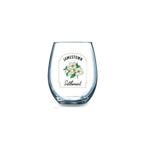 JAMESTOWN SETTLEMENT STEMLESS WINE GLASS Thumbnail