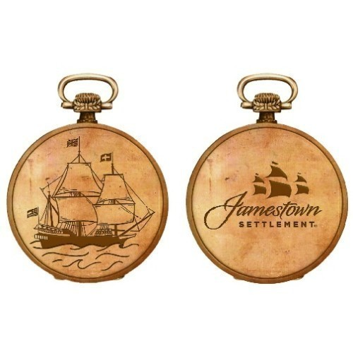 JAMESTOWN SETTLEMENT SIGNATURE POCKET WATCH Thumbnail