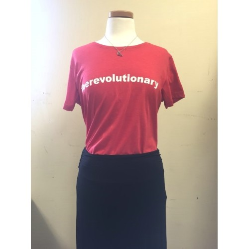 #BEREVOLUTIONARY TEE - LADIES Thumbnail
